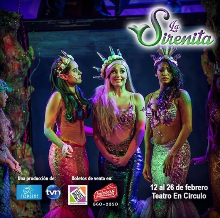 La Sirenita el Musical- Panama